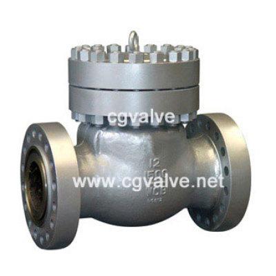 Cast steel check valve