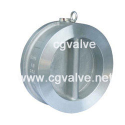 Duo plate check valve