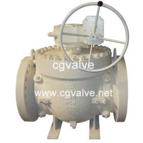 Top entry ball valve