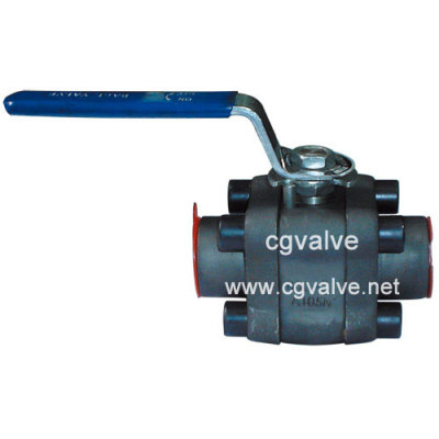 Small size forged ball valve