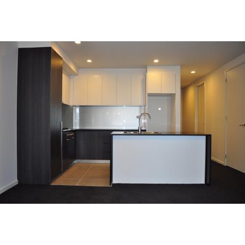 Laminate 2pac kitchen dark china integrated kitchen for 2 pac kitchen cabinets