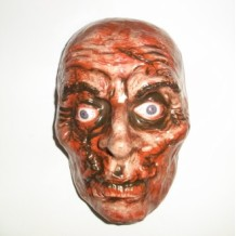Scary halloween mask
