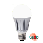 LED Bulb Light A6512W 880LM Dimmable Metal
