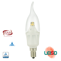 SCOB LED CANDLE LIGHT C35 4W 340LM Dimmable Metal