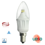 4W SCOB  LED C35 300LM Dimmable Metal