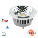 12W SCOB LED AR111 G53 620LM Metal