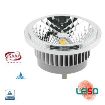 SCOB LED DOWNLIGHT AR111-G53 15W 960LM Metal
