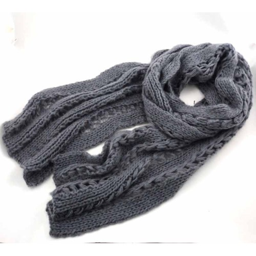 KNITTED  ACRYLIC SCARF