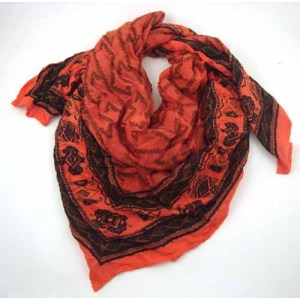 COTTON TRIANGLE SCARVES