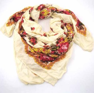 LACE WOVEN SCARF