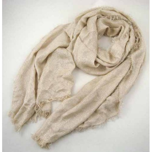 LUREX DECORATED WOVEN SCARF