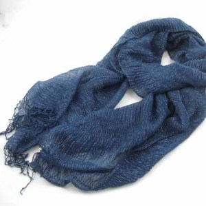 LUREX DECORATED SCARF
