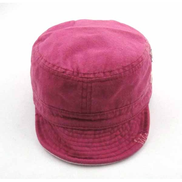 WASHED COTTON CANVAS CAP
