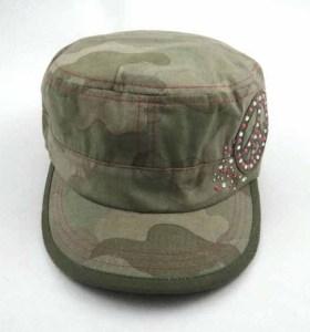 CAP MILITAIRE AVEC STRASS
