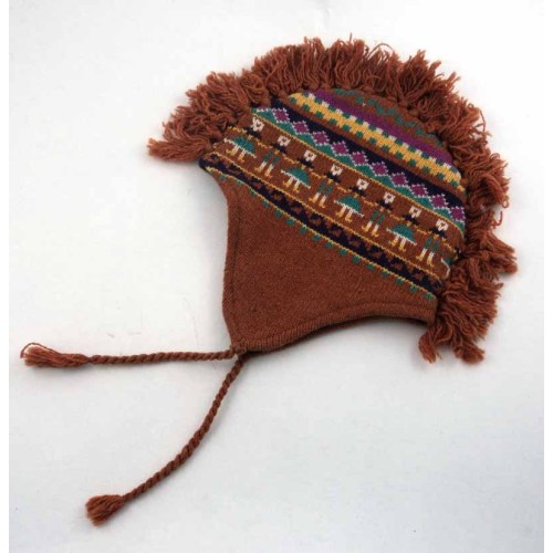 INDIAN STYLE KNITTING HAT