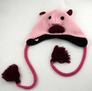 ANIMAL KNITTING HAT