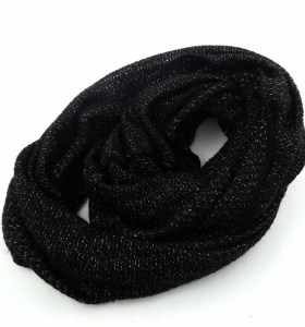 KNITTED ENDLESS SCARF