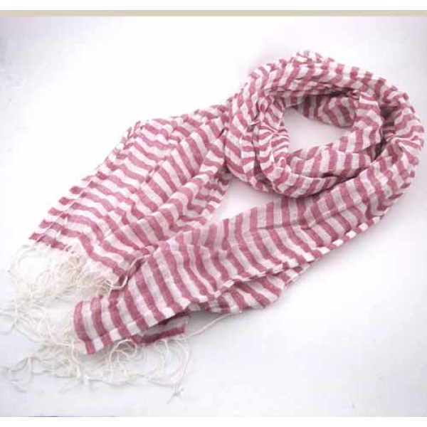 LIGHT WEIGHT STRIPE SCARF