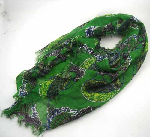 CRÂNE foulard imprimé VISCOSE