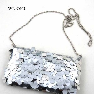 BLING BLING SEQUINS EVENING BAG