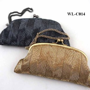 LUXURY BLING BLING BEADS EVENING BAG