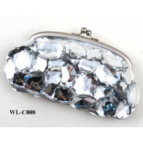 LUXURY BLING BLING CRYSTAL DIAMOND EVENING BAG