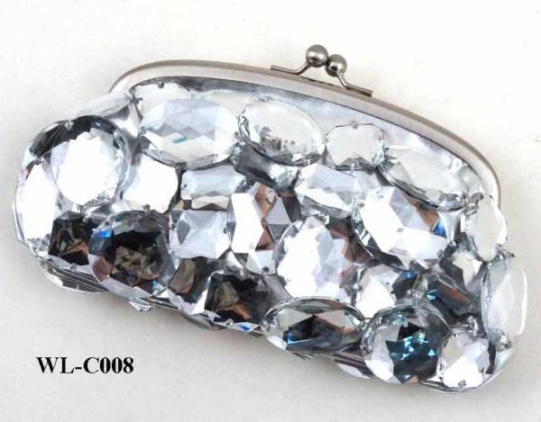 LUXE BLING BLING SAC SOIR cristal de diamant