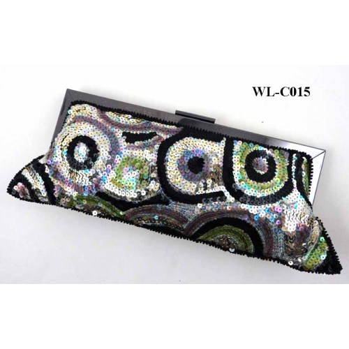 LUXURY BLING BLING SEQUINS EVENING BAG