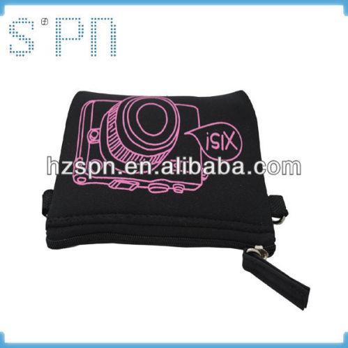 2013 New design waterproof cheap pretty printed digital camera bag