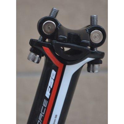 FSA-k Carbon Fibre double nail seatpost MTB bike seatpost 30.8*350mm 3K