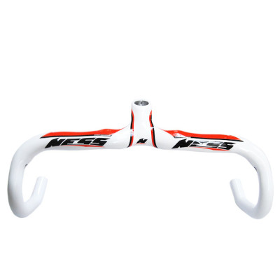 Ness Carbon Integrated Road Handlebar NI-XP28 White