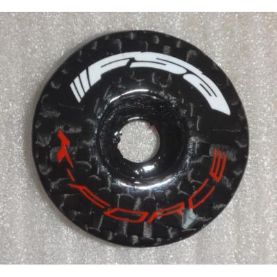 FSA Full carbon fiber headset cover aheadset tap include bolt 3K