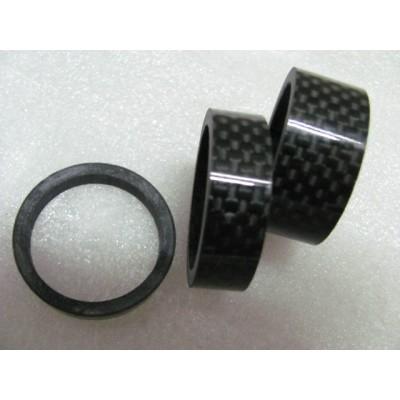 GITI Full carbon fiber washers Bicycle front fork stem washer 15/20mm