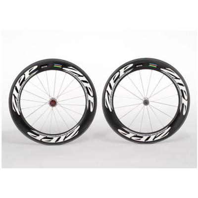 ZIPP 808  90mm clincher bicycle wheels 700c carbon fiber road bike racing wheelset
