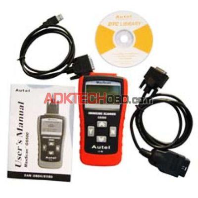 GS500 MaxScan Professional Live CAN OBD-II/EOBD Code Scanner