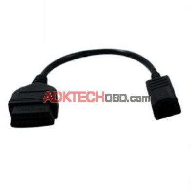 Honda OBD 3Pin to OBD2 16pin Lead cable