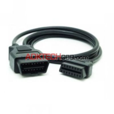 1 Meter OBD2 16PIN Male to Female Connector