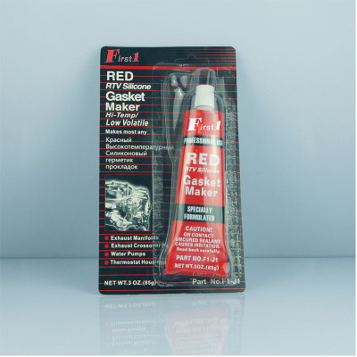 HIGH TEMP RTV RED SILICONE GASKET MAKER 85g