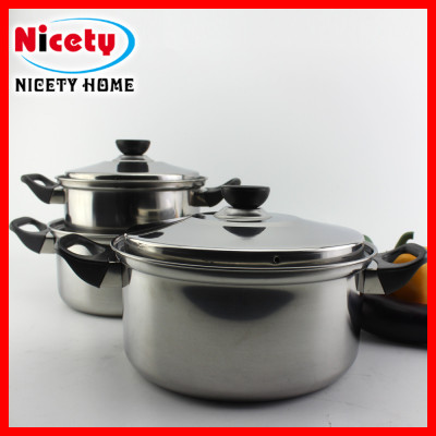 stainless steel thailand 6 pcs cookware set