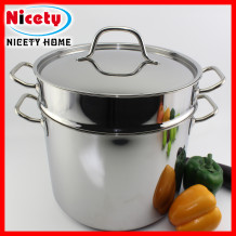 stainless steel chocolate melting pot