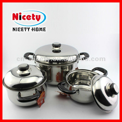 6pcs stainless steel cook ware set