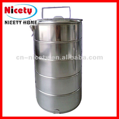 stainless steel fast food box