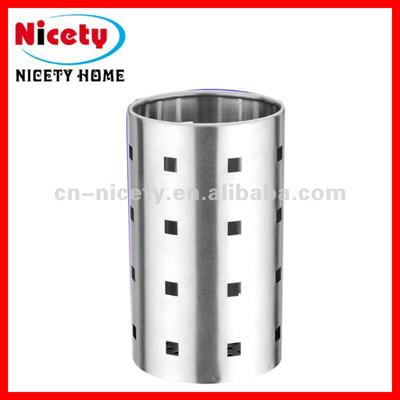 stainless steel cylinder chopsticks holder