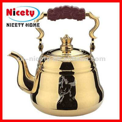 stainless steel golden pot