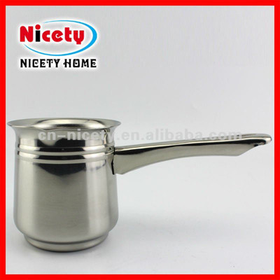 stainless steel handle coffee milk warmer