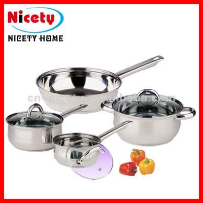 stainless steel prestige cookware set