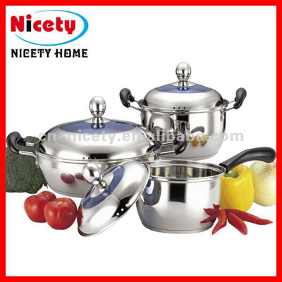 6pcs stainless steel cookware handle