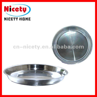 stainless steel round plate