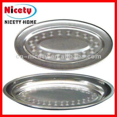 stainless steel fish tray