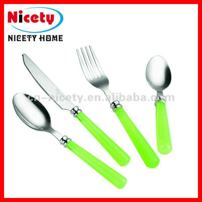 stainless steel children cutlery set